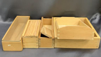 Cigar Boxes, Wood Boxes, Wood Pieces, Wood - 3