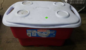 Rubbermaid Cooler W/ Contents