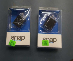 Pair Of Snap Smart Cams