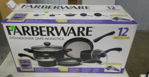 New Farberware Pots And Pans 12 Pc Set
