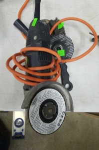 Black And Decker Angle Grinder; Untested