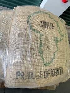 1 Bag Of Green Coffee Beans From Kenya; Not Buying