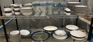 Set Of Amalfi Classic Dishware 99 Pieces