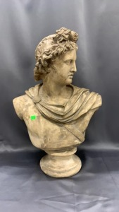 "23"" Bust Of Apollo"