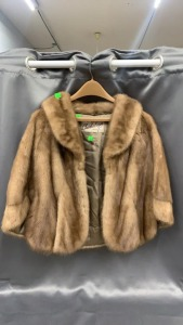 Charles Anger Mink Cape W/ Collar