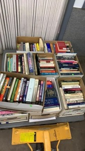 9 Boxes Books: History; Biography; Reference;