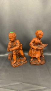 "Merrill Good & Assoc Figurines 10"" Tall"