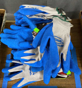 Flat Of Boss Coated Palm Gloves Misc. Sizes