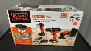 Black & Decker Project Pak Untested