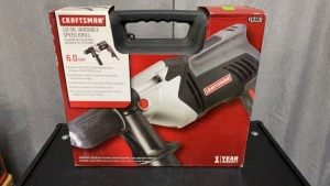 Craftsman .5 In. Variable Speed Drill 6amp