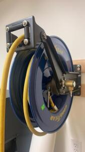Good Year Hose Reel, And Air Hose