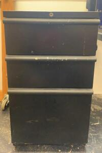 3 Drawer Metal File Cabinet 15x23x27