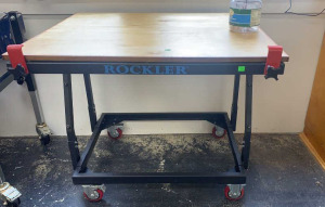 Rockler Adjustable Tilt Top Work Table