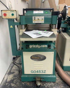 "Grizzly 15"" Planer With Spiral Cutter Head G0453z"
