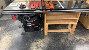 "Sawstop 10"" Cabinet Saw 3.0hp, And Hand Built"