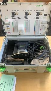 Festool Ds400 Eq-plus Delta Sander Tool In Case
