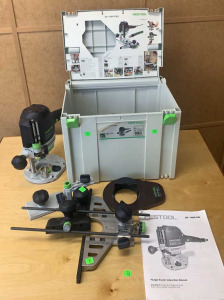 Festool Of1400 Eq-plus Router Tool In Case