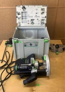 Festool Of2200 Eb-plus Router Tool In Case