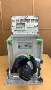 Festool Ts75 Eq-plus Plunge Cut Saw Tool In Case