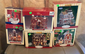 6 Lemax Christmas Villages: See-saw Fun, Wilson