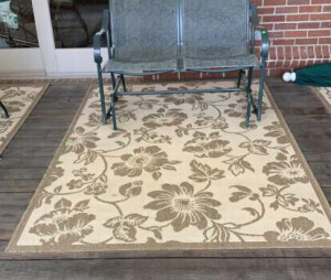 Patio Rug Only 62x91